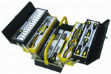 Nouvel article-58PCS Tool Set in Metal Case