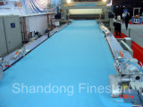 Textilmaschinen-geöffnetes Breiten-Verdichtungsgerät für das geöffnete Breiten-Baumwollgewebe, das Prozess vorkrimpt