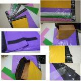 De nieuwe Materiële In het groot Purpere Resealable Plastic Envelop van de Kleur