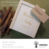Cadre en bois de Hongdao pour l'USB et l'emballage de photo de mariage