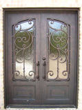 Populärster Entwurfs-klassische Eisen-Eintrag-Türen