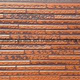 Panneau de mur extérieur gravé en relief extérieur en métal de panneau de mur de sandwich