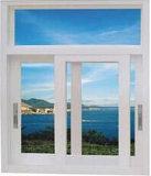Qualitäts-thermischer Bruch-schiebendes Glasaluminiumfenster für Wohnhaus