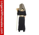 جدي [هلّووين] حزب ثوب صغيرة فرعون [كسبلي] زيّ لأنّ فتى