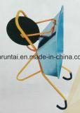 Carrinho de mão do fornecedor de China do carro de jardim com punho curvado