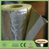 Tubo de la lana de vidrio del aislante de la alta calidad con el papel de aluminio