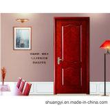 Дверь PVC нутряная деревянная с новой конструкцией