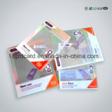 Rectángulo plástico del PVC del rectángulo transparente del empaquetado plástico para el almacenaje de los accesorios del teléfono celular