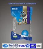3側面のシールのジッパーが付いているプラスチックアルミホイルの食糧袋