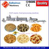 Casse-croûte de maïs faisant la chaîne de fabrication d'extrudeuse