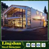 Fábrica de la percha del edificio del taller del almacén de la estructura de acero del palmo grande