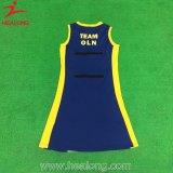 ネットボールの服のDri-Fitnetballの昇華させた服