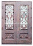 Fabricantes da porta do ferro das portas de vidro