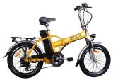 "20 "" Mini se pliant 250W Cruiser Moped Electric Bike"
