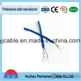 250MHz 4pair découvrent le câble extérieur de RJ45 de réseau de LAN Ethernet de fil de la catégorie 6 d'A.W.G. UTP du Cu 20 de l'en cuivre 1000FT