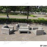 Напольные комплекты софы, мебель ротанга патио, комплекты софы сада (SF-344)