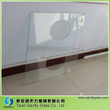 Специальное Shape Tempered Decorative Glass Panel для Equipment с Drilling Holes