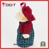 아기를 위한 채워진 곰 스코틀란드 치마 장난감 곰