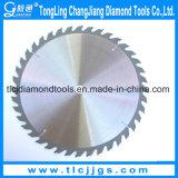 Le CTT circulaire d'extrémité de carbure de tungstène scie des lames pour le bois