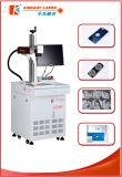 Marcação do laser da fibra e máquina de gravura com metal