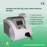 Macchina portatile del laser della pelle di alto effetto per il tatuaggio Removel