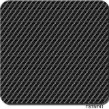 Impression hydrographique de vente populaire Tstn741 d'Aqua de film de films d'impression de transfert de l'eau de fibre de carbone de largeur de Tsautop 0.5m/1m
