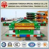 3 Semi Aanhangwagen van de Container van het Skelet van assen 40FT de Groene aan Concurrerende Prijzen