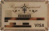 金張りの金属のカード