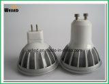 5W 12V Gu5.3 세륨 & RoHS와 실내 사용을%s 기본적인 고성능 Alluminum 합금 LED 옥수수 속 MR16 스포트라이트 램프