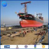 船の海難救助のための海洋のゴム製エアバッグを進水させる船