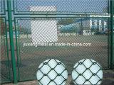 Barrière enduite de maillon de chaîne de PVC (LF-67)