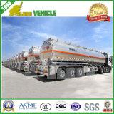 De Semi Aanhangwagen van de Tanker van de Tank van de Stookolie van de Legering van het Aluminium van de Bedrijfsauto