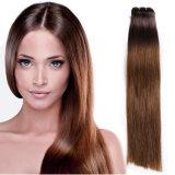 7A加工されていないOmbreのバージンの毛ブラジルボディ波#1b/#4/#27 Ombreのブラジルの毛の織り方3束のOmbreの人間の毛髪の拡張