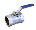 APC Gelaste Kogelklep met Versnellingsbak