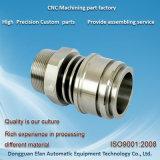 Précision de rotation de tour de bonne qualité d'usine usinant les pièces de rechange de commande numérique par ordinateur