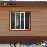 Comitato di parete esterna di plastica di legno della villa