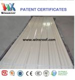 Produits de brevet de Winsroof de tuile de toit de fibre de carbone (tejas d'UPVC)