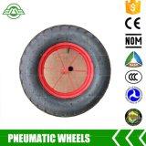 4.00-8 het rubberWiel van de Kruiwagen van het Wiel met Pneumatisch Wiel voor Kruiwagens