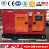 Gerador Diesel silencioso poderoso de Genset 30kw com as peças do calefator de água
