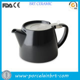 Ceramic accatastabile Teapot con Stainless Steel Infulser