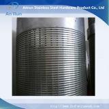 (fabbricazione) cilindro del filtrante del pozzo d'acqua del collegare di V per il filtro da acqua