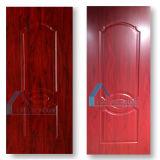 De rode Houten Huid van de Grootte van het Comité van de Deur van de Melamine HDF van het Gezicht
