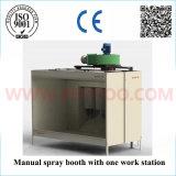 Cabine manual do revestimento do pó da alta qualidade com sistema da recuperação