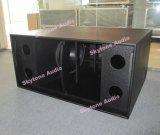 18 Lautsprecher verdoppeln des Zoll-Lautsprecher-Ts218 Subwoofer DJ