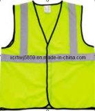 Gilet 100% r3fléchissant de sûreté de gilet de polyester de la sûreté (HL-SC15) de /Most En471 de visibilité élevée populaire r3fléchissante de la classe 2/ce