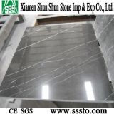 Shakespeare Gray Polished Marble Tile per Flooring