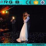 먼 Contro 결혼식 DJ Discodecoration LED 별빛 댄스 플로워를 점화하는 단계