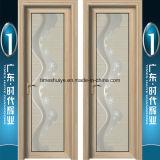 Porte en aluminium de salle de bains pour la salle de bains intérieure
