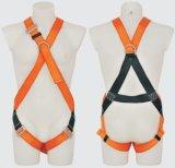 Travail de harnais de courroie de protection de support de polyester de sécurité du travail avec du ce