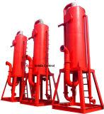 Trabalho da perfuração para a exploração do petróleo sobre o fornecedor do separador de gás da lama